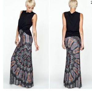 Novella Royale Broken Wing Maxi Skirt